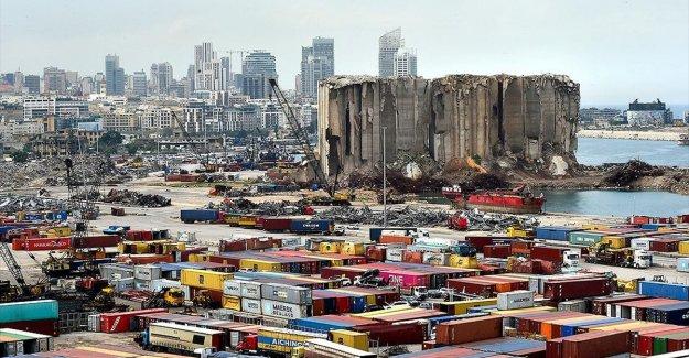 Türk iş insanları Beyrut limanının yeniden inşası için talepte bulundu