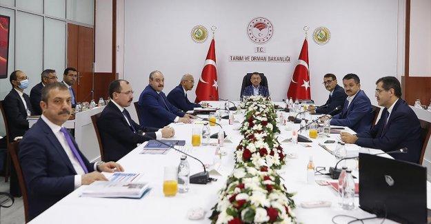 Cumhurbaşkanı Yardımcısı Oktay, Ekonomi Koordinasyon Kurulu Toplantısı'na başkanlık etti