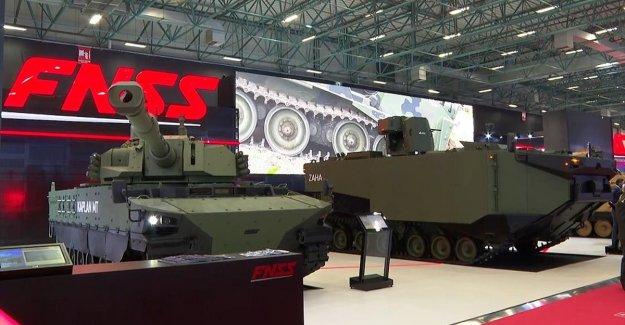 FNSS yeni nesil ve insansız zırhlı araçlarını tanıttı
