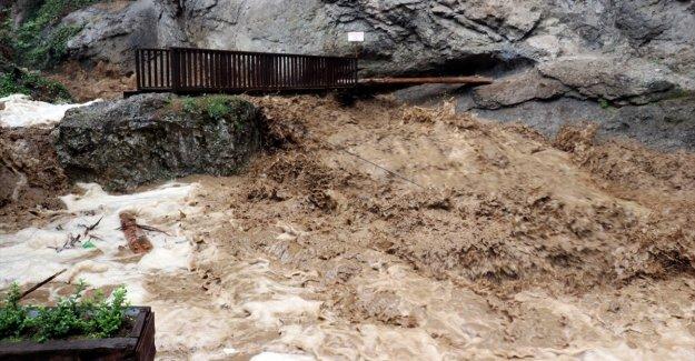 Kastamonu, Sinop ve Samsun için kuvvetli yağış uyarısı