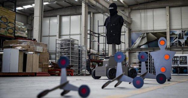 Keskin nişancılar ilk sınavı 'robot hedefe' karşı verecek