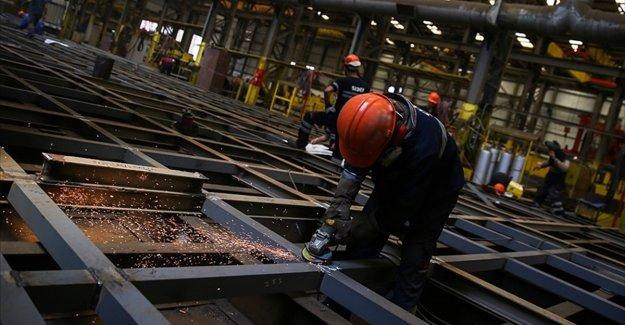 Sanayi üretimi ikinci çeyrekte yüzde 20'nin üzerinde büyümeye işaret ediyor