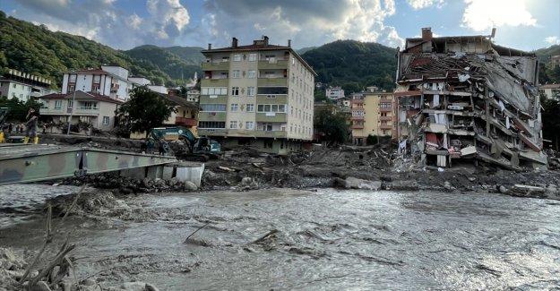 TBB'den Bartın, Kastamonu ve Sinop'taki sel mağdurlarına yönelik tavsiye kararı