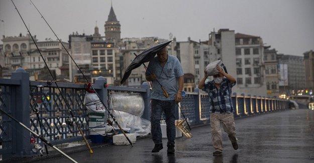 Türkiye'de temmuz yağışları geçen yıla göre yüzde 35 arttı