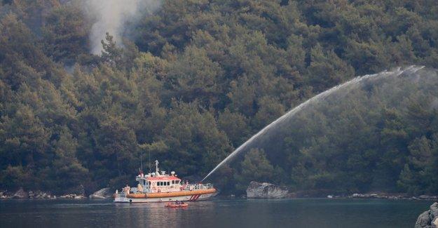 Ulaştırma ve Altyapı Bakanlığından yangınlarla mücadeleye 4 koldan destek