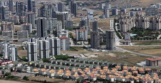 Türkiye'de ağustosta 141 bin 400 konut satıldı