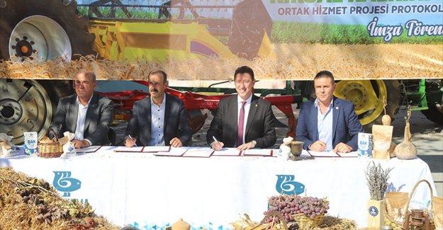 """Bandırma'da """"Kırsal Kalkınma Ortak Hizmet Projesi""""yle üretimin artırılması hedefleniyor"""