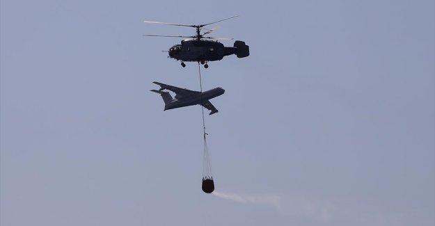 Orman yangınlarıyla mücadelede helikopter ve uçak sayısı artıyor