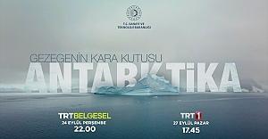 'Gezegenin Kara Kutusu: Antarktika' belgeseli ilk kez TRT'de yayınlanacak