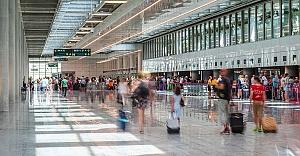 Havalimanlarında #039;uçuş kaçırma#039;...