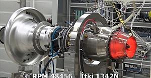 Türkiye'nin ilk orta menzilli füze motoru TEI-TJ300 dünya rekoru kırdı
